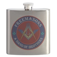 Freemason Brothers Flask