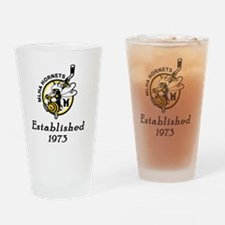 Established 1973 Drinking Glass
