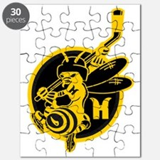 Hornets Black and Gold Puzzle
