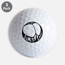 peacelove Golf Ball