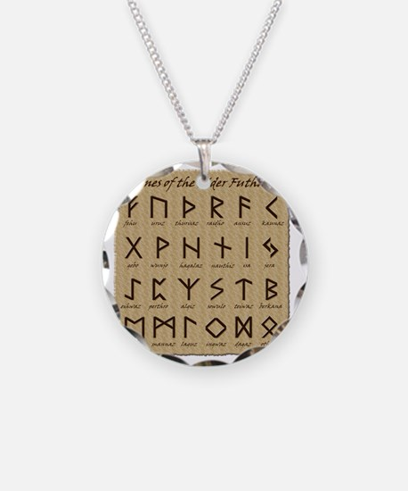 All-Runes-flat_10x10 Necklace