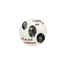 I love my blk gh shirt 2010 calendar Mini Button