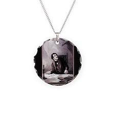 vintage-the-raven_13-5x18 Necklace Circle Charm