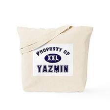 My heart belongs to yazmin Tote Bag