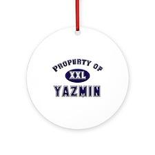My heart belongs to yazmin Ornament (Round)