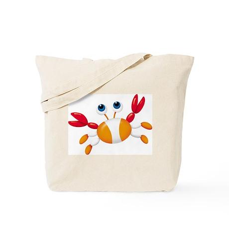 Bug-eyed Crab (Front) Tote Bag