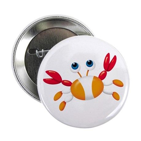 "Bug-eyed Crab 2.25"" Button (100 pack)"
