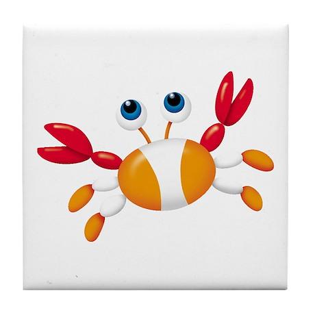 Bug-eyed Crab Tile Coaster
