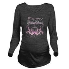 Mommy to a Cystic Fi Long Sleeve Maternity T-Shirt