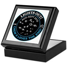 2-lights out Keepsake Box