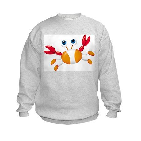 Bug-eyed Crab Kids Sweatshirt