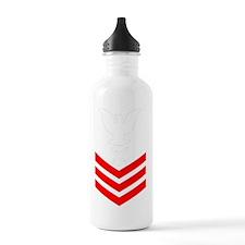 USCG-Rank-IS1-PNG Water Bottle