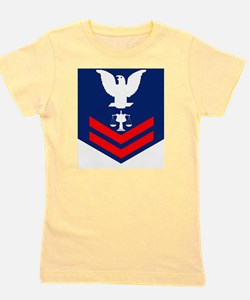 USCG-Rank-IV2 Girl's Tee