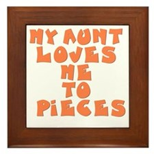 love-to-pieces Framed Tile
