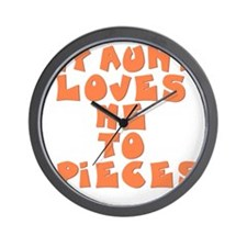 love-to-pieces Wall Clock
