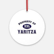 My heart belongs to yaritza Ornament (Round)