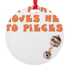 aunt-loves-to-pieces Ornament