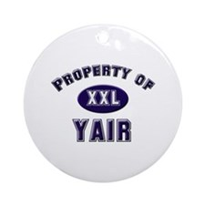 My heart belongs to yair Ornament (Round)