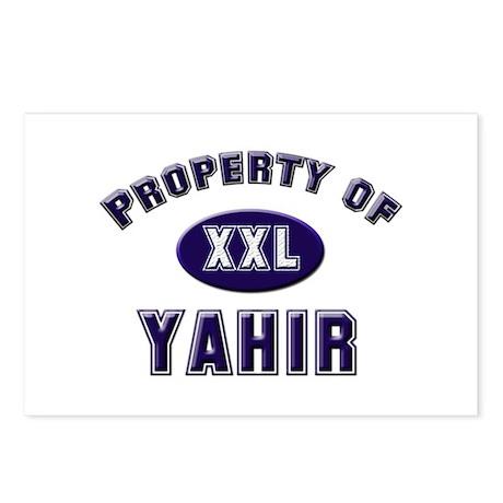 My heart belongs to yahir Postcards (Package of 8)