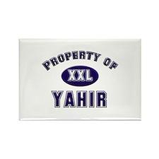 My heart belongs to yahir Rectangle Magnet