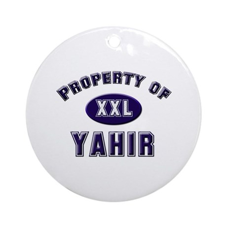 My heart belongs to yahir Ornament (Round)