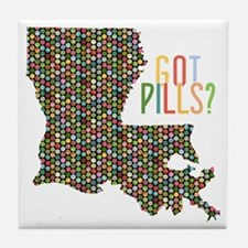 Louisiana Ecstasy Pills Tile Coaster