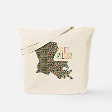 Louisiana Ecstasy Pills Tote Bag