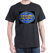 I Love YouTubing The Troops T-Shirt