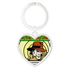 Yours Truly Johnny Dollar color Heart Keychain