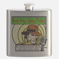 Yours Truly Johnny Dollar color Flask