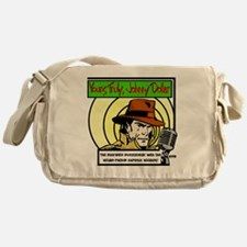 Yours Truly Johnny Dollar color Messenger Bag