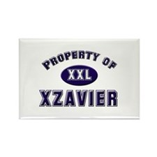 My heart belongs to xzavier Rectangle Magnet