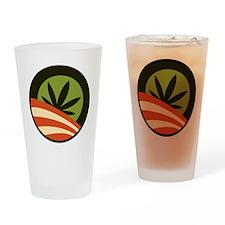 Hope Leaf Drinking Glass