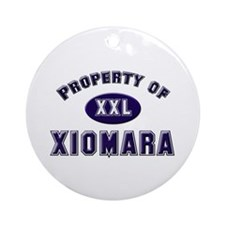 My heart belongs to xiomara Ornament (Round)