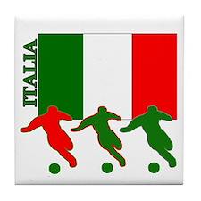 Italia Soccer Tile Coaster