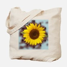 sunflower wall clock2 Tote Bag
