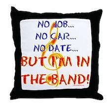 no job Throw Pillow