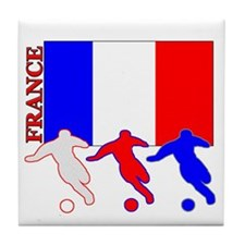 Soccer France Tile Coaster