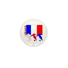 Soccer France Mini Button (100 pack)