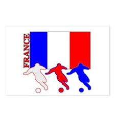 Soccer France Postcards (Package of 8)