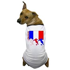 Soccer France Dog T-Shirt