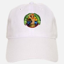 Hawaiian Hula Girl Baseball Baseball Cap
