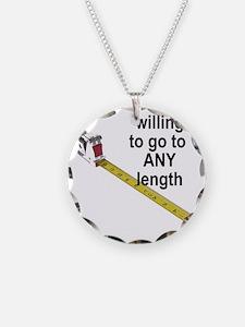 any-length Necklace Circle Charm