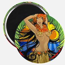Hawaiian Hula Girl Magnet
