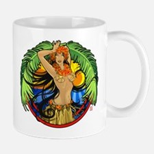 Hawaiian Hula Girl Small Mugs
