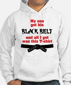 BLK - Mom to Son-01 Hoodie