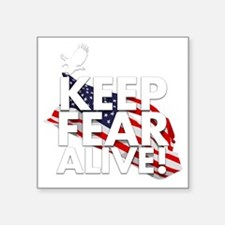 """keep fear alive t-shirt Square Sticker 3"""" x 3"""""""