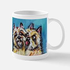 Cairn Terrier Kiss Mugs