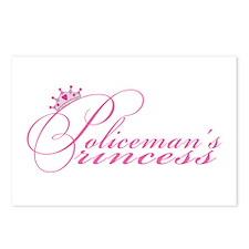 Policeman's Princess Postcards (Package of 8)