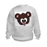 Cute Brown Bear Wild Animal Kids Sweatshirt